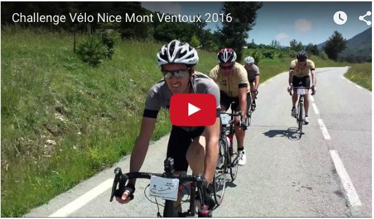 Teaser Challenge Entreprise Nice Mont Ventoux 2016
